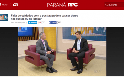 Dr. Emiliano Vialle participa do programa Bom Dia Paraná